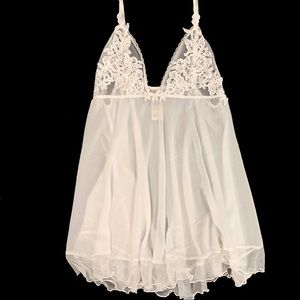 In Bloom by Jonquil white lace lingerie, small